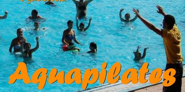 AQUAPILATES a les piscines municipals  de Camarasa. Dimarts, dia 23 de juliol, a les 19 h.