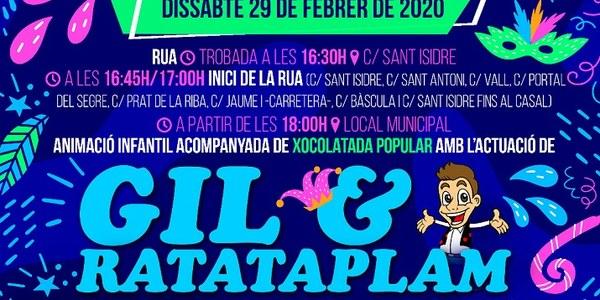 CARNAVAL DE CAMARASA. Dissabte, 29 de febrer.