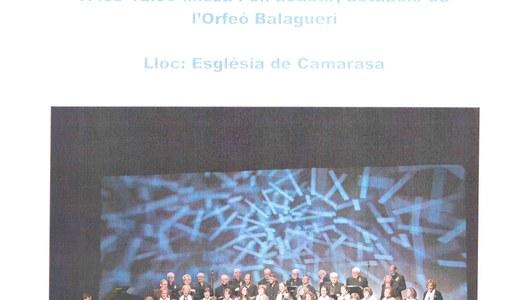 Concert Orfeó Balaguerí