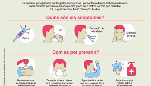 INFORMACIÓ SOBRE EL CORONAVIRUS