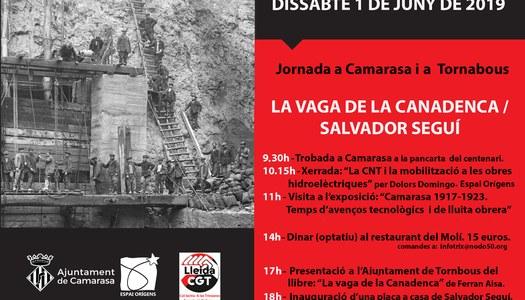"""Jornada """"La vaga de la Canadenca - Salvador Seguí"""""""